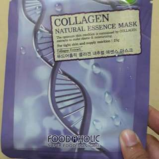 Foodaholic 3D Collagen Natural Essence Face Mask