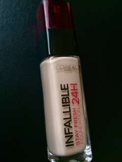 L'oreal Infallible Stay Fresh Foundation 24H