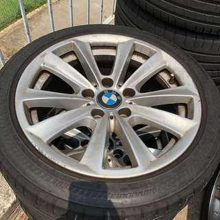 "Bmw 17"" stock rim wheel"