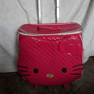 Hello kitty trolly bag