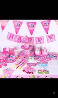 PO kids party/birthday items .. pls pm me for more details .. other character I have also ..