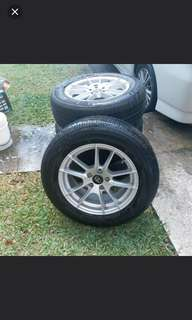 Reduced price Rim & Tyres