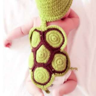 Baby Green Turtle Costume
