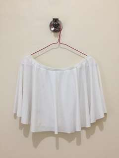 [NEW] YRYS White Off-shoulder top