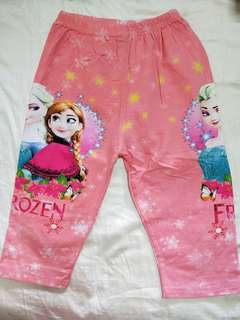 Girls 3/4 pants (7-8yrs old)