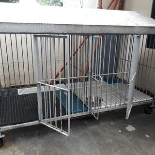 Dog cage for large breed