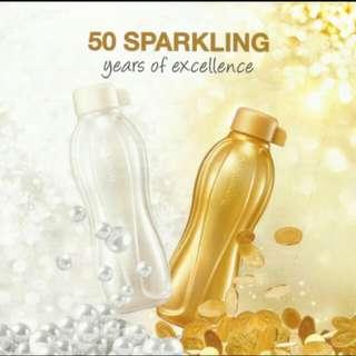 Tupperware 500ml Gold Pearl