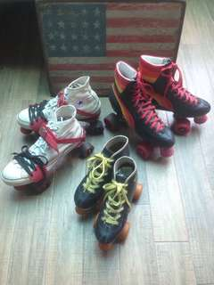 Vintage Retro 70's 80's Roller skates Girl Props Photoshoot Movies Advertisement Boogie Nights themed Events