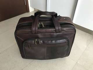 Samsonite roller Laptop case / half suitcase