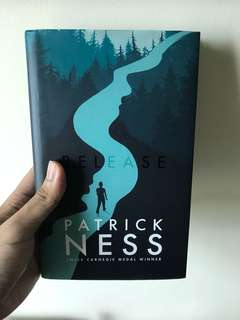 Release - Patrick Ness GIVEAWAY!