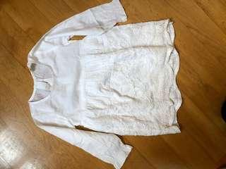 Small fish white dress