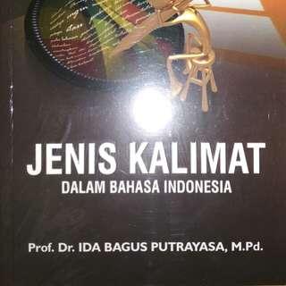JENIS KALIMAT DALAM BAHASA INDONESIA   Prof. Dr. IDA BAGUS PUTRAYASA   REFIKA ADITAMA   ORIGINAL