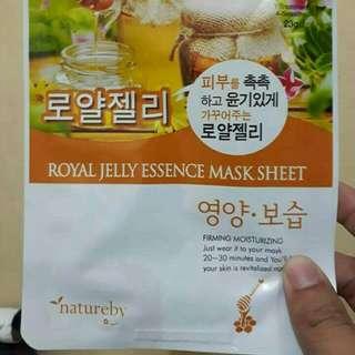 Natureby Royal Jelly Essence Face Mask