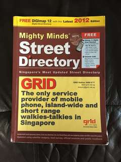 2012 Mighty Minds Street Directory