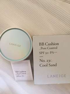 Laneige BB Cushion Pore Control 23C case+isi No Refill
