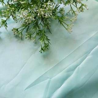 3m Kain Bridal Duchess Bahan Gaun (Mint)