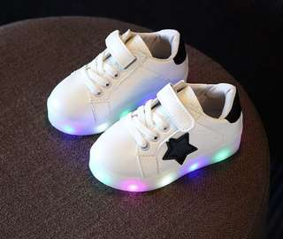 Baby Boy and Girl Luminous Shoes (1004)