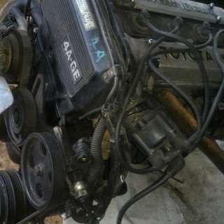 Ae86 Engine 4age siap gearbox manual ke70 te70 ae70 ae71 te71 ta22 ta28