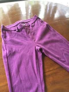 Uniqlo Purple Jeggings