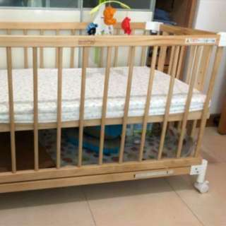 BB床連床墊 嬰兒床 Baby Bed