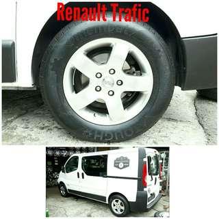 Tyre 215/65 R16C Membat on Renault Trafic 🐕 Super Offer 🙋♂️