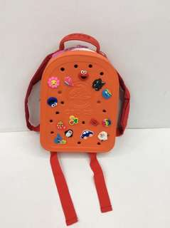 Crocs backpack almost original quality last price already pls!!!