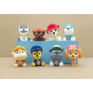 PAW Figures/ Figurines/ Toys / Bath Squishy / Cake Toppers