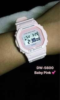 Casio G Shock DW-5600BB
