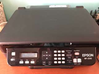 Epson all in one workstation WF-2510
