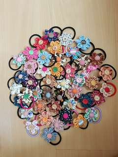 1.5inche flower bands