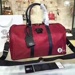 Versace Inspired Medusa Palazzo Travel bag