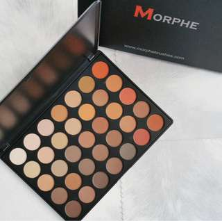 (Authentic Spree) Morphe 35OM Nature Glow Matte Eyeshadow Palette Preorder Po Spree (included Shipping)