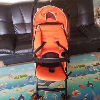 Combi Orange Pram Stroller