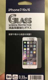 Iphone 7/6/6s tempered glass screen protector