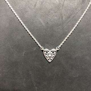 PANDORA Heart of Winter Necklace