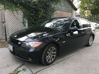2008 BMW 323i - black on black