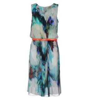 Brand new Paul smith black label 100% silk dress (without belt)