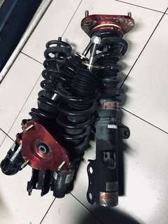 Adjustable suspension toyota caldina