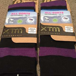 🔥PRICE DROP🔥XTM Knee High Merino Heater Socks