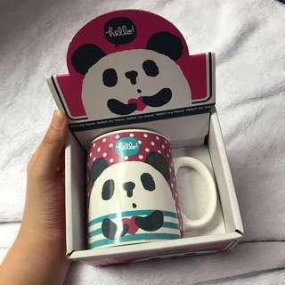 🚚 熊貓馬克杯