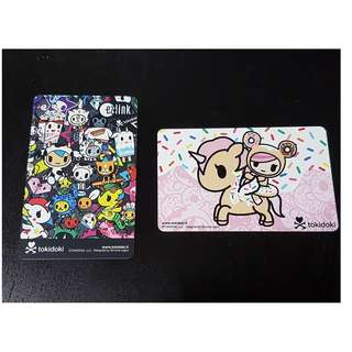 Tokidoki Ezlink Limited Edition - Black & Donutella & Dolce ez link Pair