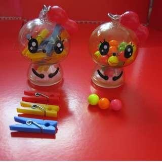 Sanrio 晴天公仔夾仔和大頭釘套裝 (1995年)