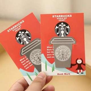Starbucks Metal Bookmark Pagemarker