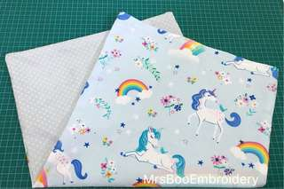 Customise unicorn pillowcase