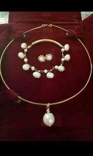 10k pearl set..unfaded