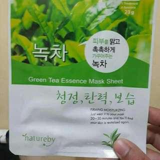Natureby Green Tea Essence Face Mask
