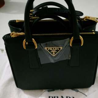 Prada Saffiano Lux Galleria Mini Bag
