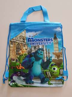 Monster inc Drawstring Bag