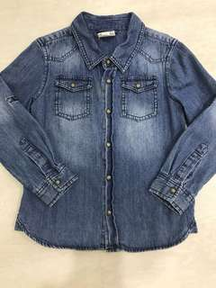 Cotton On Kids Boy's Denim Shirt