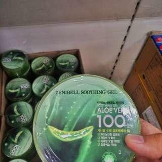 Zenibell Soothing Gel  ( 100% aloe  vera )